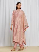 amisha kothari label utsav edit abha kurta set pink