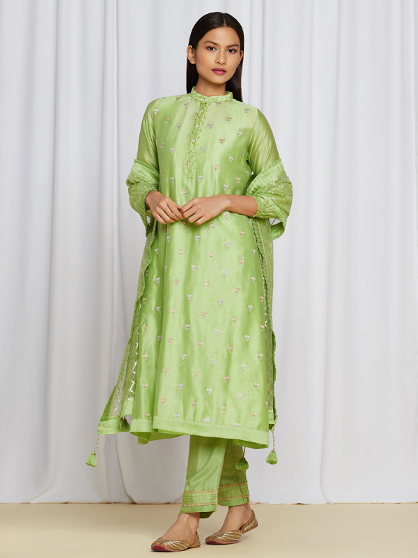 AbhaKurtaSet Green