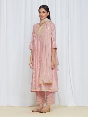 RoohiKurtaSet Pink