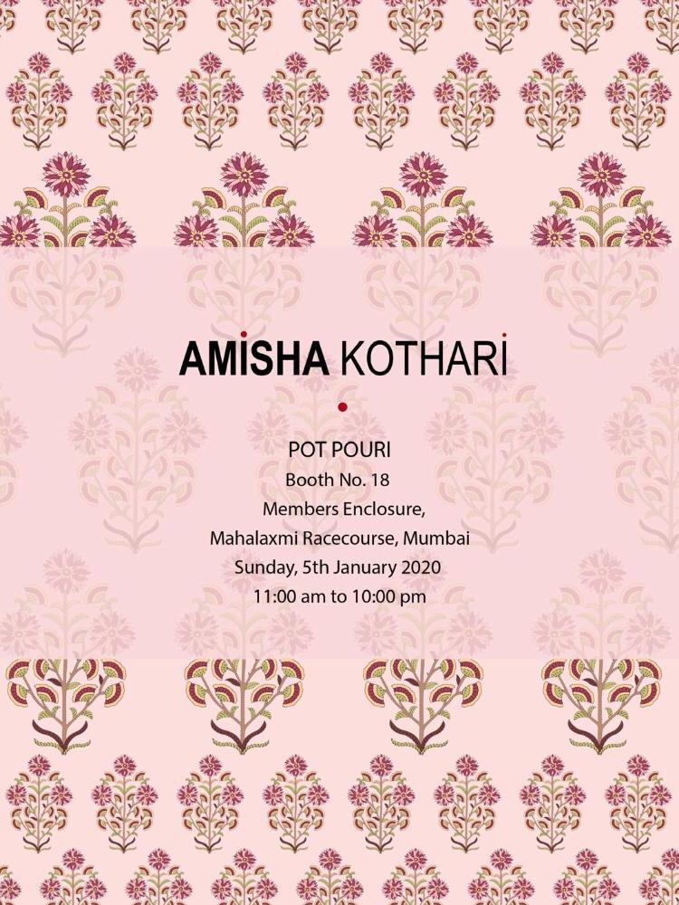 amisha kothari label pot pourri