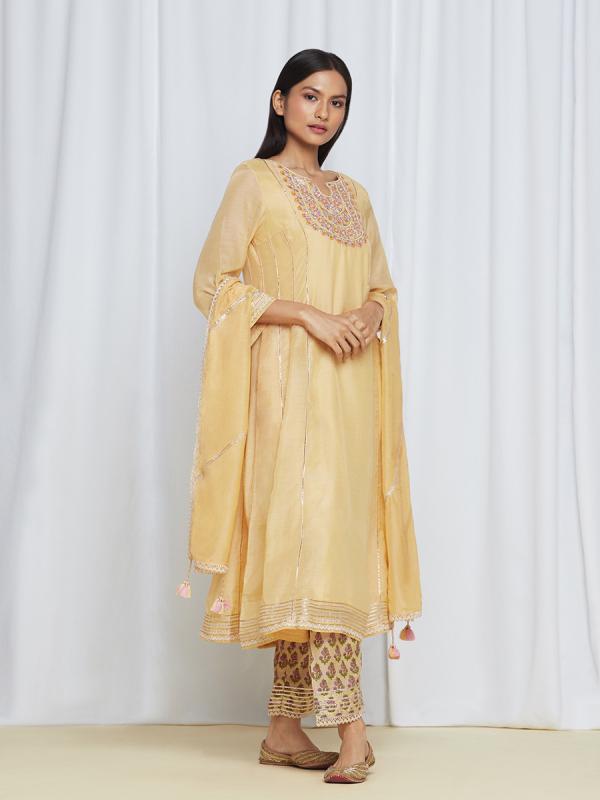 MirayaKurtaSet Yellow