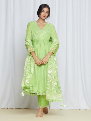BaghKurtaSet Green