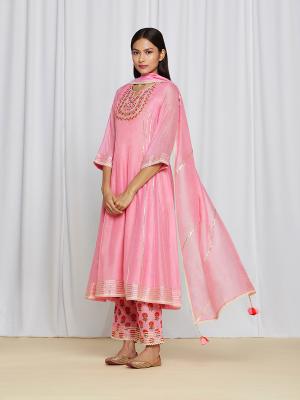 MirayaKurtaSet Pink