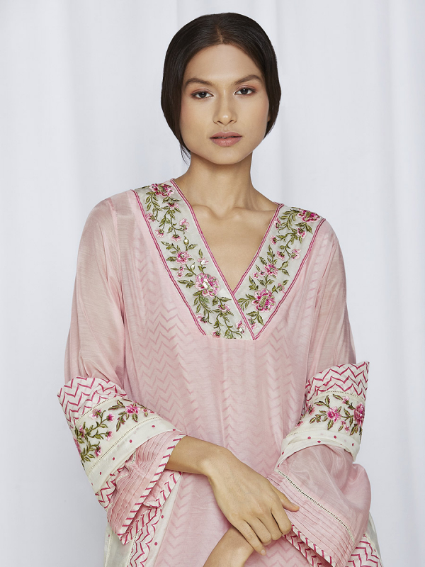 Blush Pink Kurta Sets Online