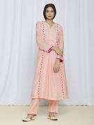 Peach Festive Wear Kurta Sets