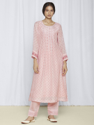 Zuri Blush Pink Kurta Set Online