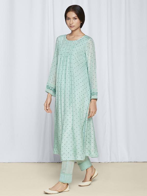 party wear kurta set for women