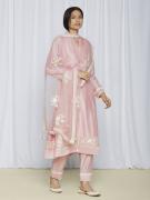 Pink Kurta Pant Set For Women